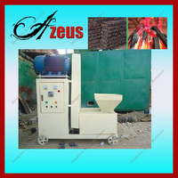 widely use biomass/leaves charcoal briquette molding machine