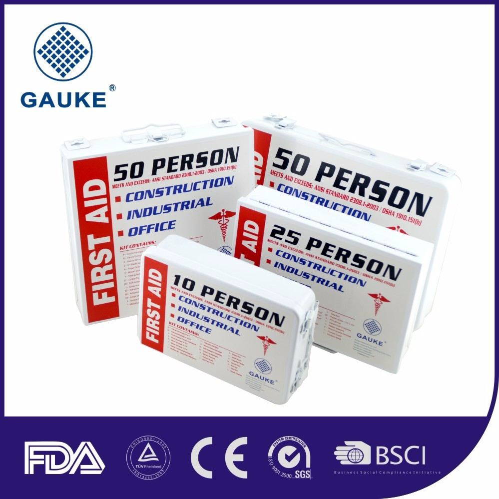 FDA CE Approved Nylon Dry Bag Waterproof First Aid Kit Plastic Medical Bag