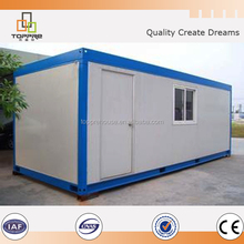 low cost prefab container house for living