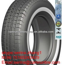 white sidewall tyre 185R14C,195R15C,205/75R14C for South Africa market