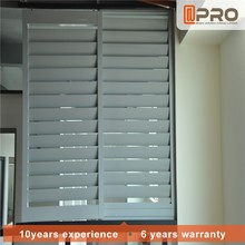 Customized exterior shutters louver vertical plantation shutters casement windows plantation shutters from china
