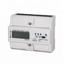 Din Rail Three Phase Modbus Digital Kwh <strong>Meter</strong> Smart Electric <strong>Meters</strong> With RS485