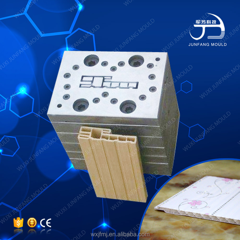 Durable plastic extrusion mold
