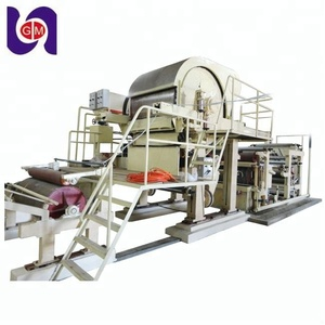 new 1575mm toilet paper manufacturing machine and production line with one year guarantee