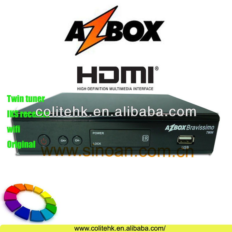 IKS Receiver Azbox Bravissimo/Update Azbox Bravissimo Twin Hd