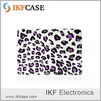 Fashion and new PC cover frosted leopard print waterproof laptop case for macbook