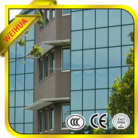 EU STANDARD DECORATIVE LED LAMINATED GLASS FOR CANOPY