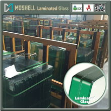6mm cheap price starfire clear laminated glass