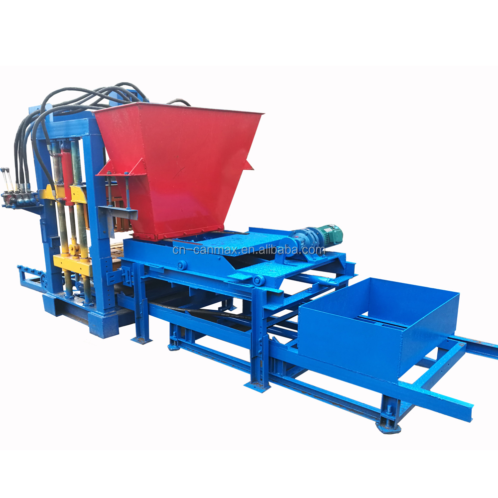 hot selling cadona block making machine italy QT4-20 mobile brick making machine with mould