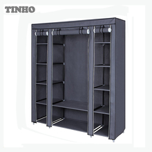 Non-woven Fabric Storage Organizer Portable Cloth Wardrobe