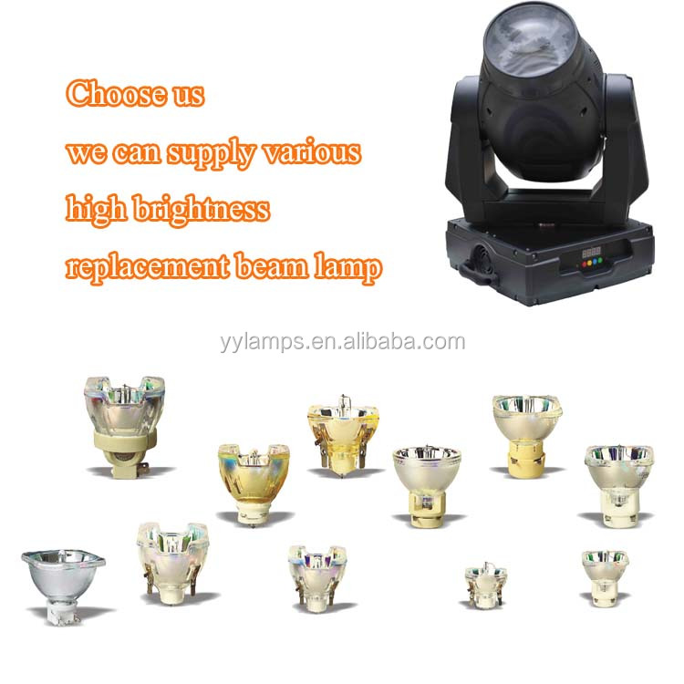 Guangzhou Manufacturer Dj Lighting beam 5R 200w lamp for sharpy beam moving head light