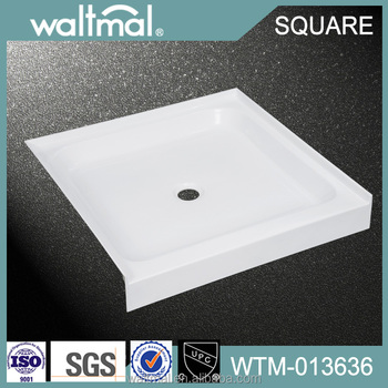 cUPC Approved Square Custom Acrylic Shower Base