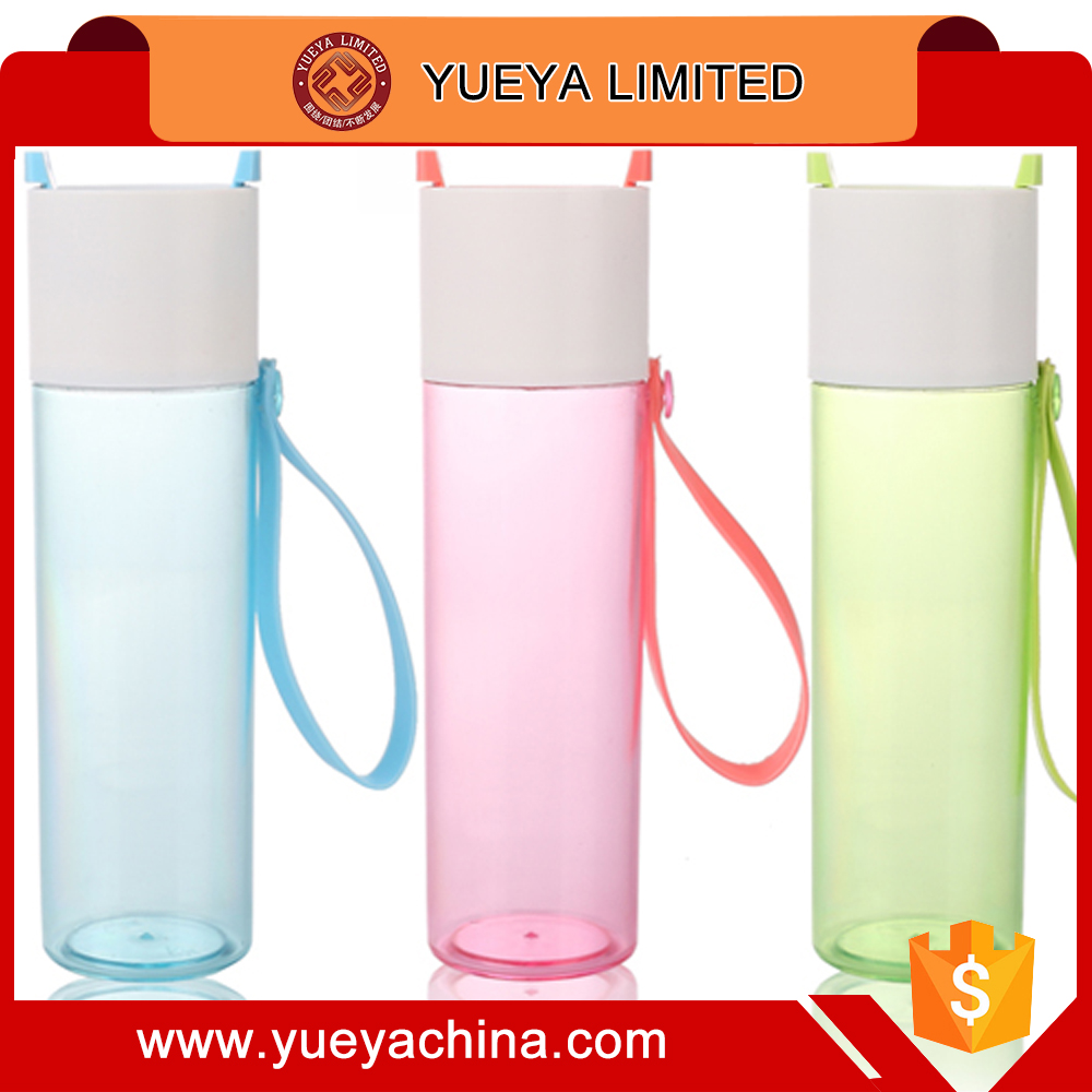 portable traveling water glass cup candy colors plastic cups with filter