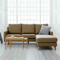 Stanley Leather Sofa India