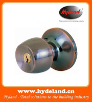 Stainless steel cylindrical knob lock for entrance door 578 ACET