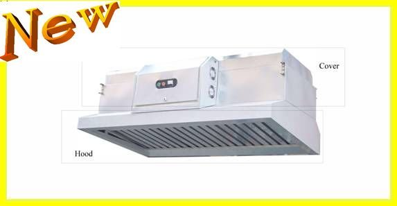 Commercial Vent Range Hoods With ESP