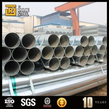 gi pipe/galvanized steel pipe/galvanized hollow section 24 inch drain pipe