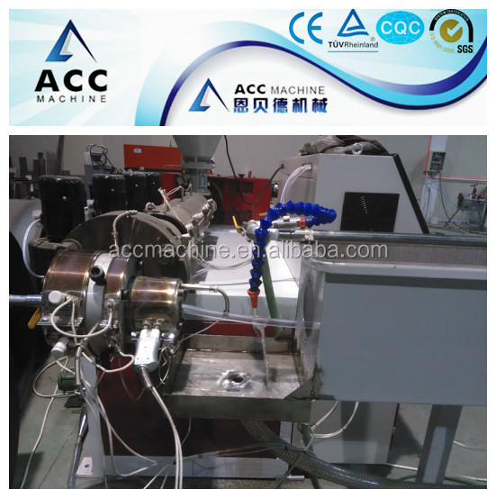 soft pvc Braided hose pipe making machine
