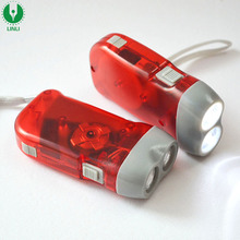 Cheap Oem Logo Led Dynamo Flashlight