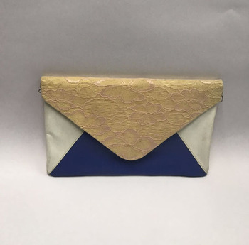 Customized Fashion Lace Clutch Envelope Bag