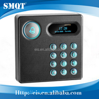 Building management system magnetic card reader for atm door access