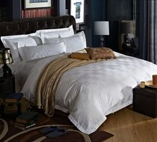 Top grade 100% cotton Hotel bedding sets,hotel bed linen,hotel tetile products plain pure white