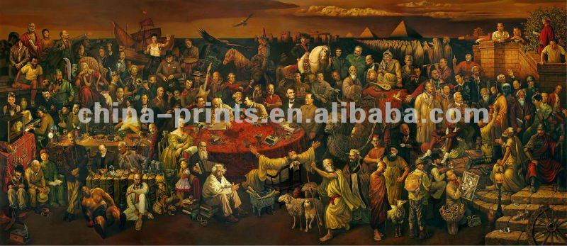 Classical Wall Decor Jesus Canvas Oil Painting