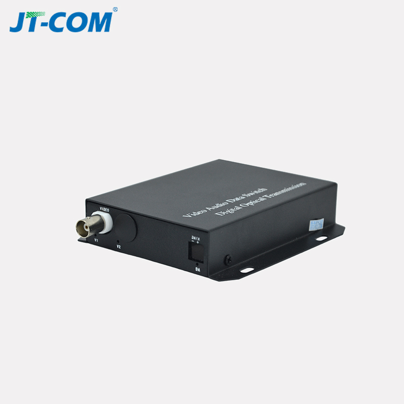 Single mode 1 ch power over coax bnc to fiber video converter with FC SC