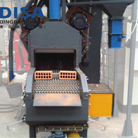 Roller Conveyor Shot Blasting Surface Cleaning Machine for All the Stone