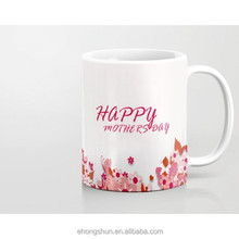 China supplier ceramic mug for mothers day gift promotional gift for fathers day
