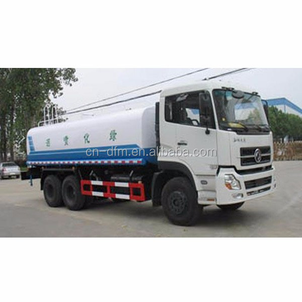 20000 liter water delivery truck water tanker transport, milk transport truck
