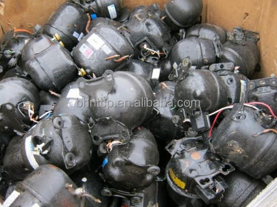 Used Refrigerator compressors scrap HK Stock Available
