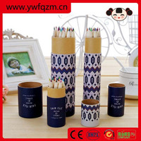 customized logo wooden color pencil, color pencil, pencil set