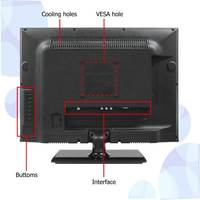 15 inch cheap small size lcd tv with vga port skd/ckd tv kits