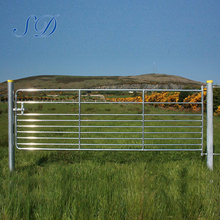 5mm Wire Livestock Ranch Farm Gates Manufacturer Cattle Yards Yard 5 Bar Gate Panels