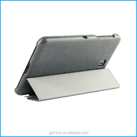 "7"" PU leather tablet case for samsung galaxy tab 4. 7.0-Grey"