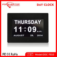new design desk calendar clock factory supply made in China