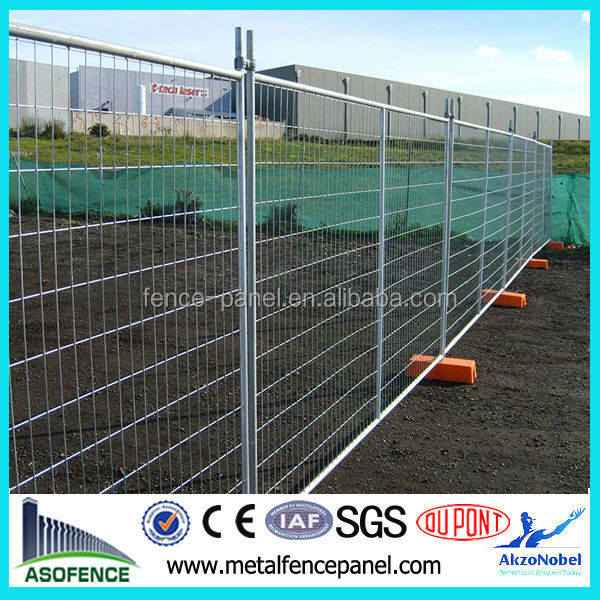 High Quality Construction Metal Portable Temporary Fencing