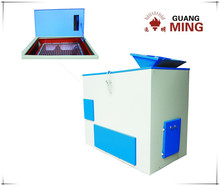 Particle size separating single deck electric sieve shaker sealed desgin sieving machine for coal, rock, mineral