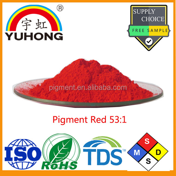 Organic Pigment Powder Manufature Pigment Red 53:1 for Pakistan Ink