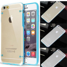 Wholesale Mobile Phone Bags & Cases Glow Luminous Case for iPhone 5S 6 6S Plus Transparent PC Cover