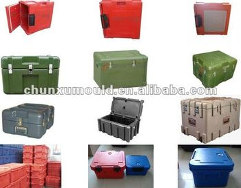 roto molded plastic case container,tool case and case mould