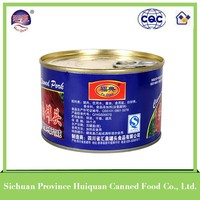 chinese products wholesale ready to eat meals canned spiced pork cubes