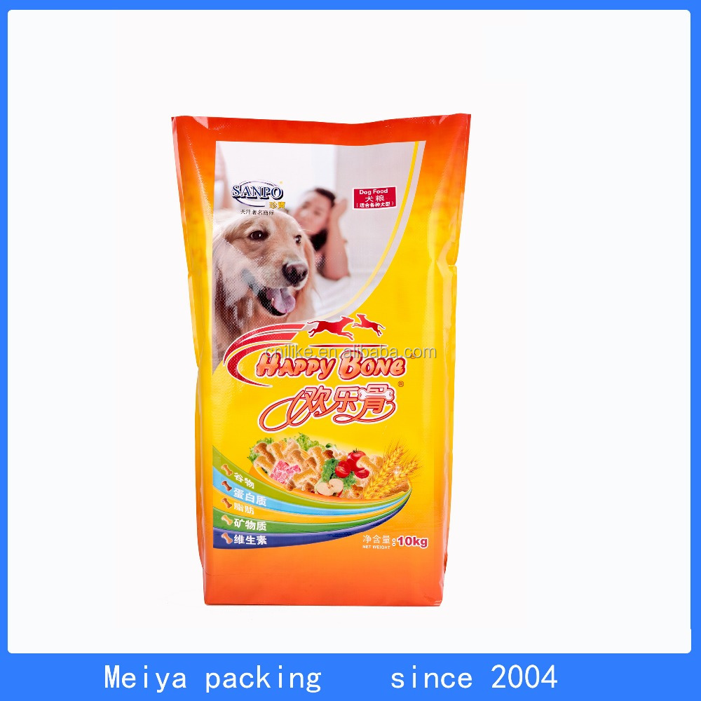 Newly Design 10kg Packed Dog Feed pp voven lamination sack