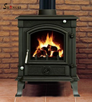 Top quality outdoor cast iron wood stove , wood burning stove
