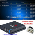 The best 4K satellite receiver Combo DVBT2+DVBS2 KII pro android tv box Amlogic Quad core 2GB 16GB Kodi 16.1 WIFI 2.4G+5G 1000M