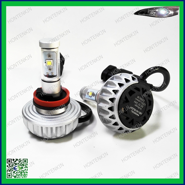 New 3S design round 30w 3000LM motor led headlight bulb H8