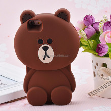 Latest design cell phone case,cute rubbit bear duck cell phone case, wholesale cell phone case