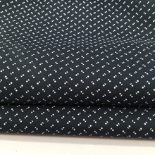 100% cotton shirts fabric with prints for dress shirt with liquid ammonia and easy care stocks lot for sale