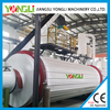 Single/three layers 1-5tph industrial rotary tumble kiln dryer